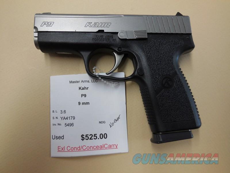 KAHR P9  Guns > Pistols > Kahr Pistols