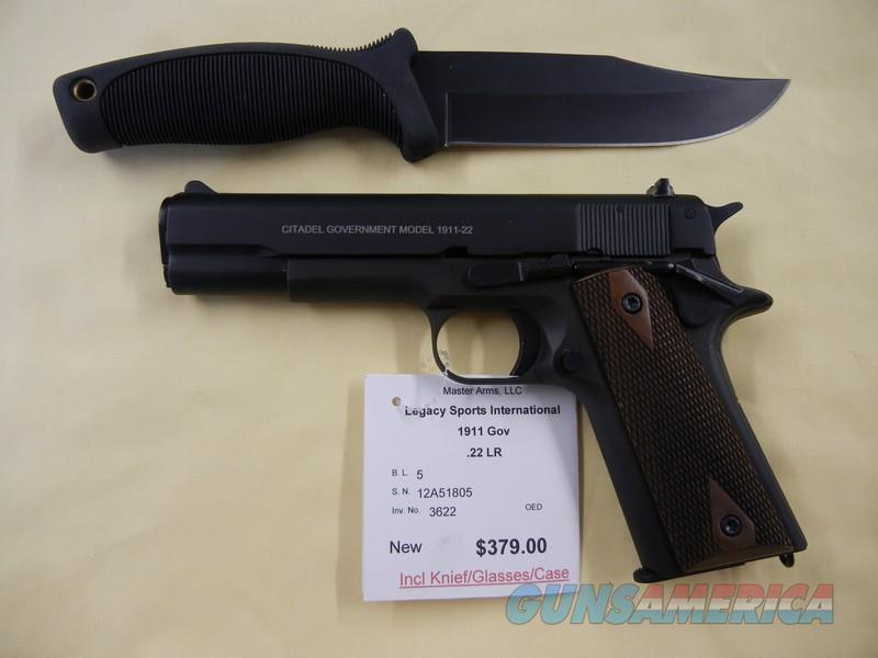 LEGACY SPORTS INTERNATIONAL 1911 GOVERNMENT  Guns > Pistols > L Misc Pistols