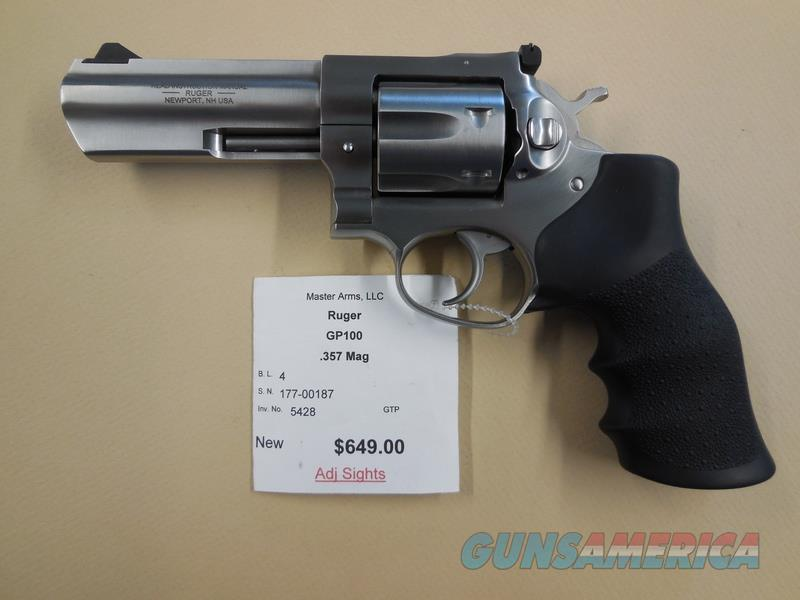 RUGER GP1OO  Guns > Pistols > Ruger Double Action Revolver > GP100
