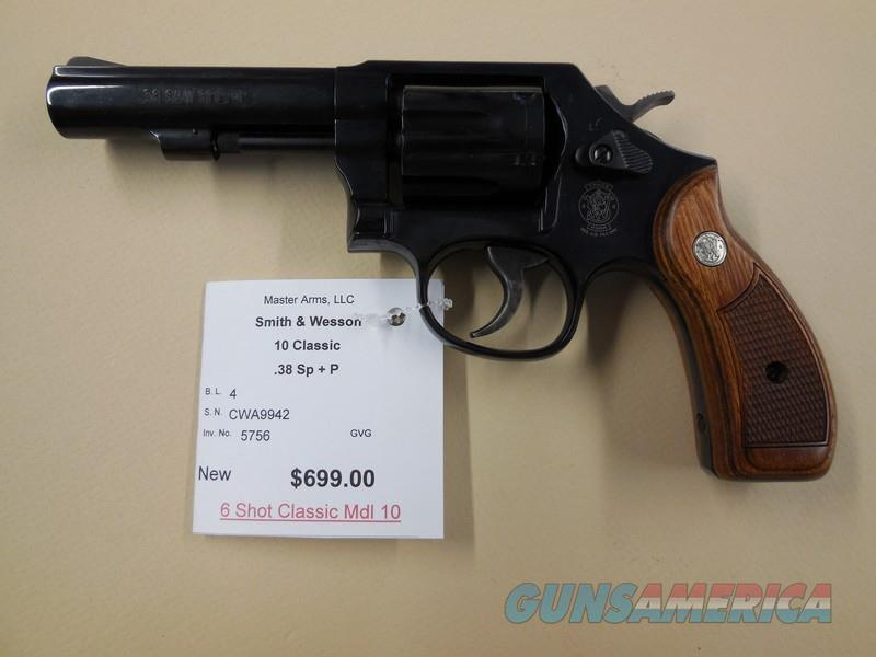 SMITH & WESSON MODEL 10  Guns > Pistols > Smith & Wesson Revolvers > Model 10