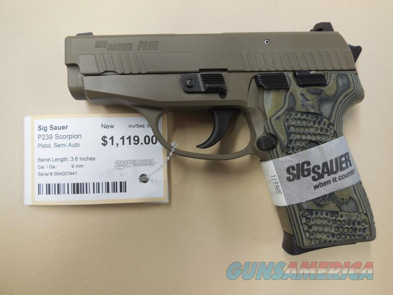 SIG SAUER P239 SCORPION  Guns > Pistols > Sig - Sauer/Sigarms Pistols > P239