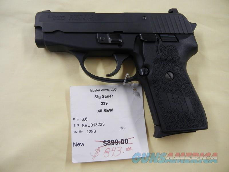 SIG SAUER 239  Guns > Pistols > Sig - Sauer/Sigarms Pistols > P239