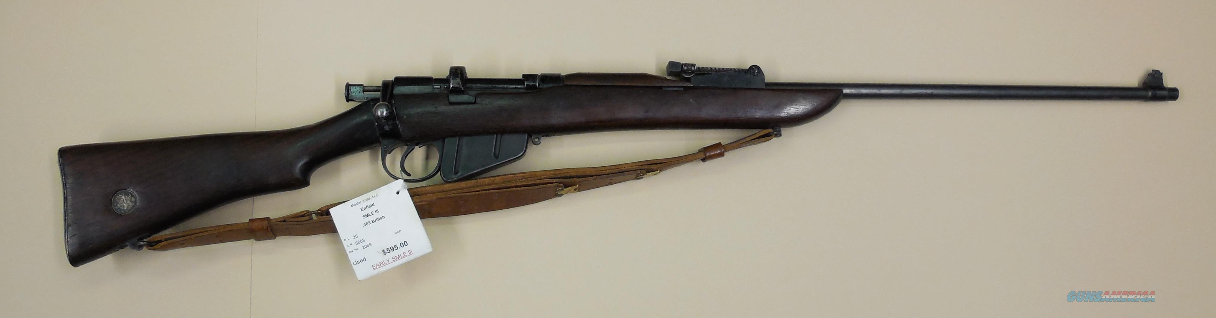 ENFIELD SMLE lll  Guns > Rifles > Enfield Rifle