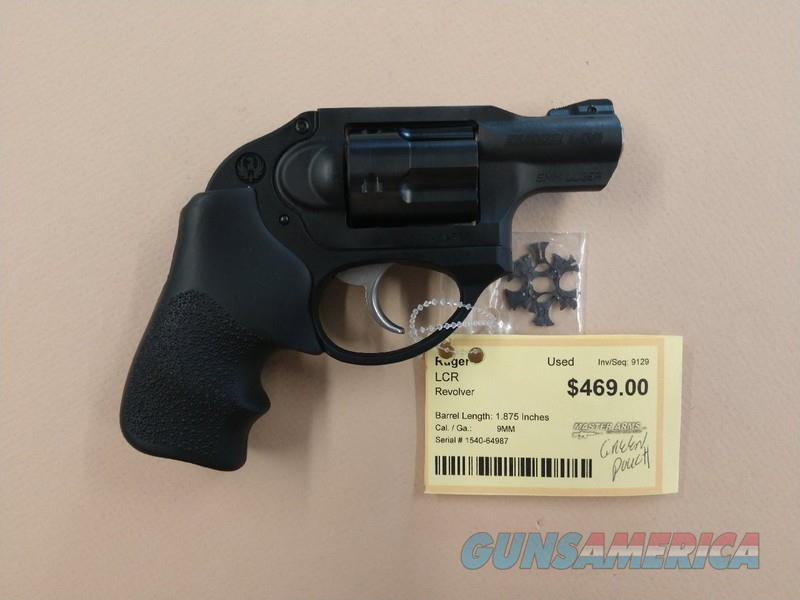 RUGER LCR 9MM  Guns > Pistols > Ruger Double Action Revolver > LCR