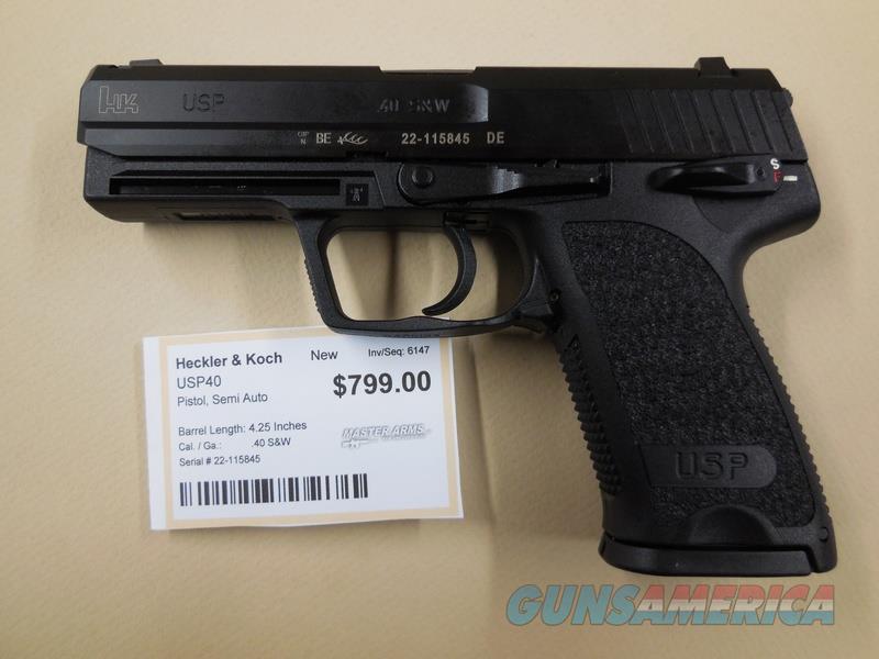 HECKLER & KOCH USP40  Guns > Pistols > Heckler & Koch Pistols > Polymer Frame