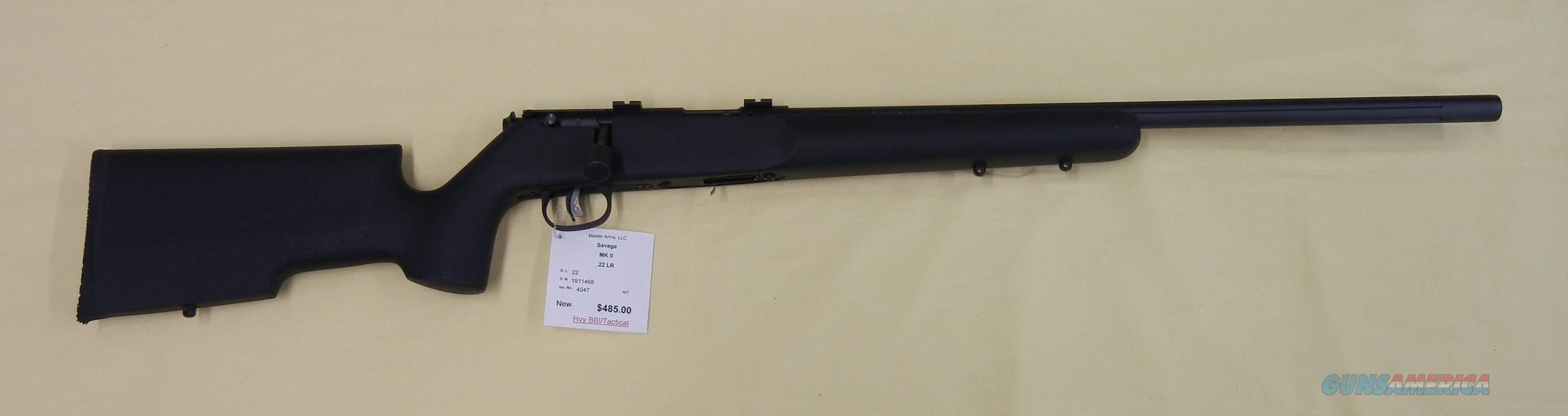 SAVAGE MKII  Guns > Rifles > Savage Rifles > Rimfire