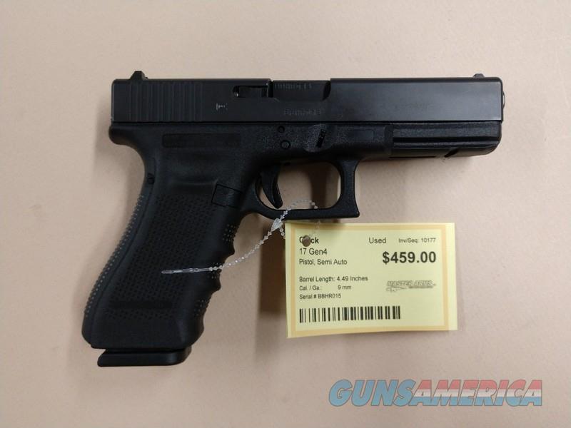 GLOCK 17 GEN 4  Guns > Pistols > Glock Pistols > 17