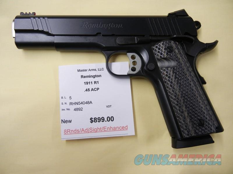 REMINGTON 1911 R1 ENHANCED  Guns > Pistols > Remington Pistols - Modern > 1911