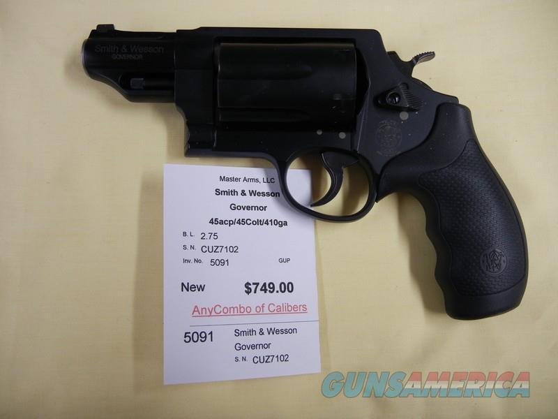 SMITH & WESSON GOVERNOR  Guns > Pistols > Smith & Wesson Revolvers > Full Frame Revolver