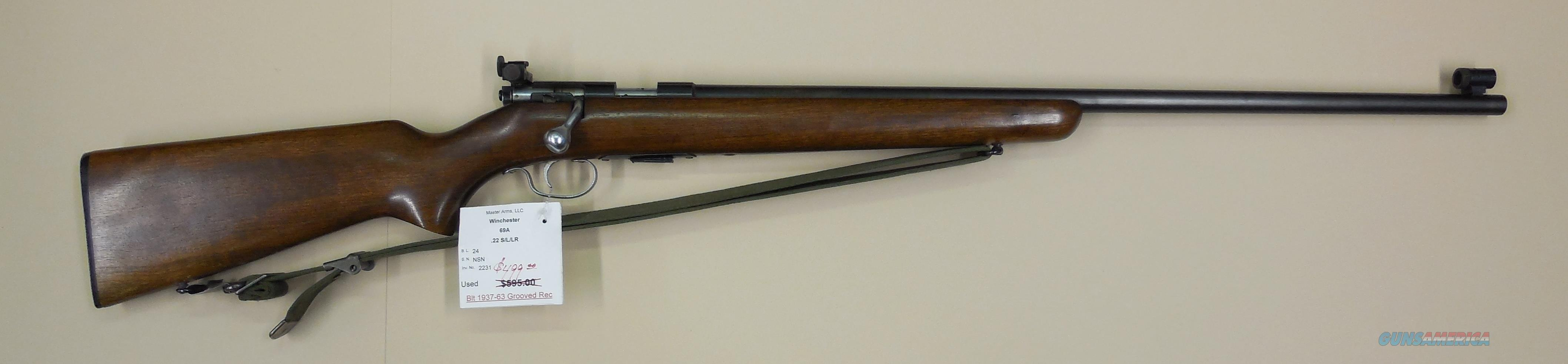 WINCHESTER 69A  Guns > Rifles > Winchester Rifles - Modern Bolt/Auto/Single > Other Bolt Action