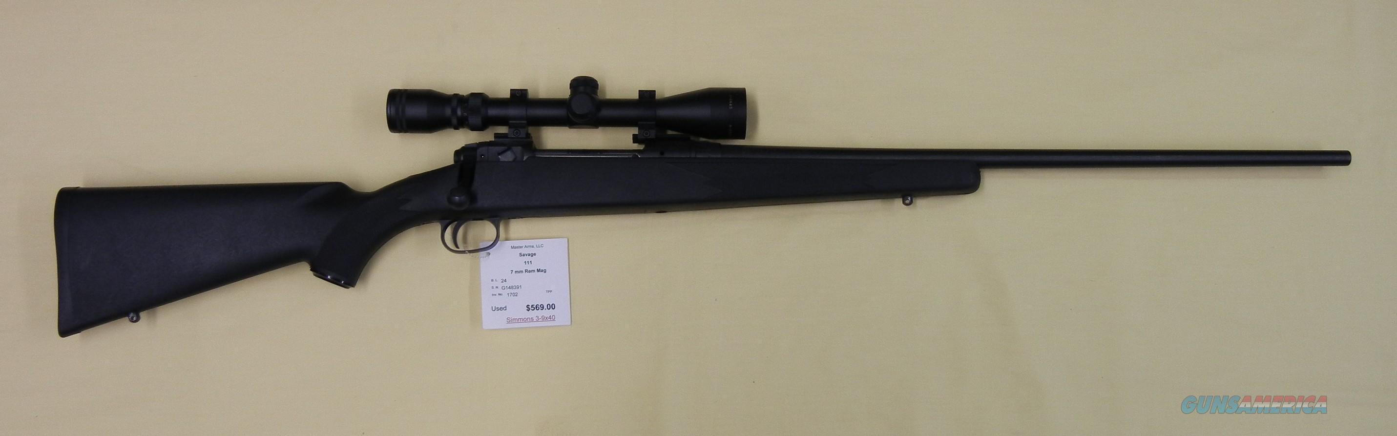 SAVAGE 111  Guns > Rifles > Savage Rifles > 11/111