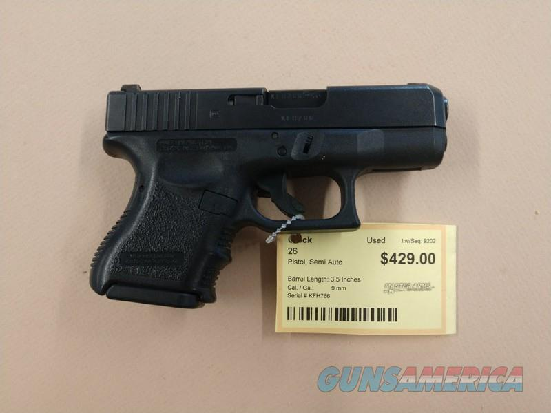 GLOCK 26  Guns > Pistols > Glock Pistols > 26/27