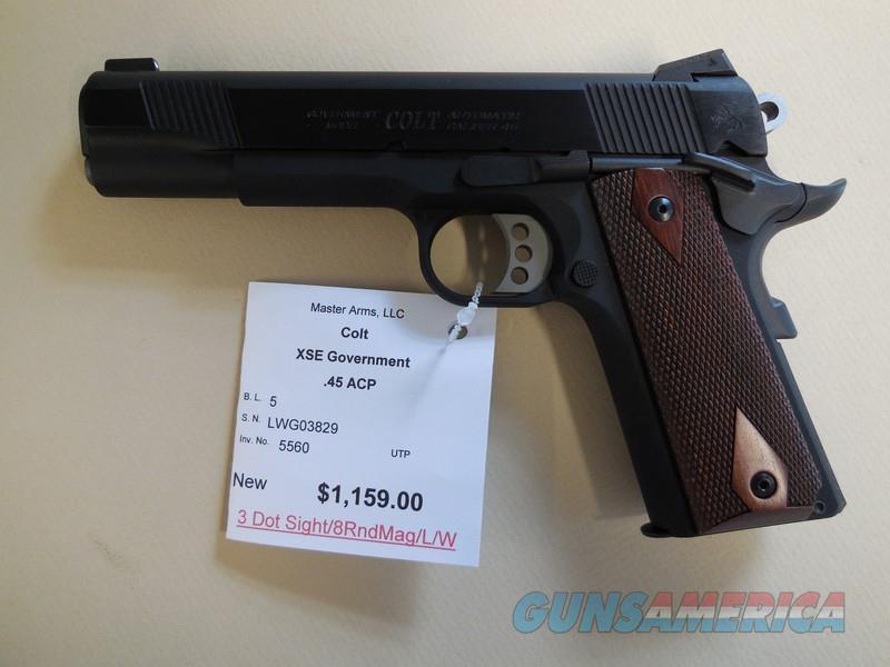 COLT XSE GOVERNMENT LIGHTWEIGHT  Guns > Pistols > Colt Automatic Pistols (1911 & Var)