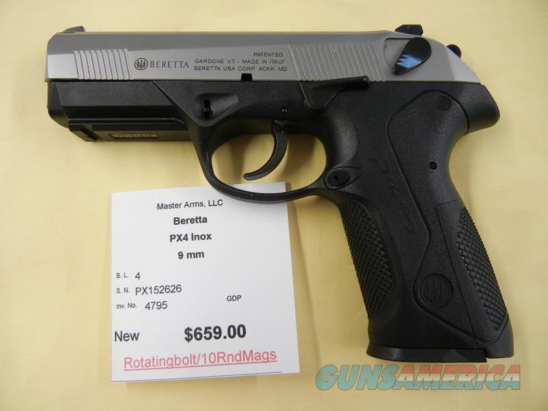 BERETTA PX4 STORM INOX  Guns > Pistols > Beretta Pistols > Polymer Frame