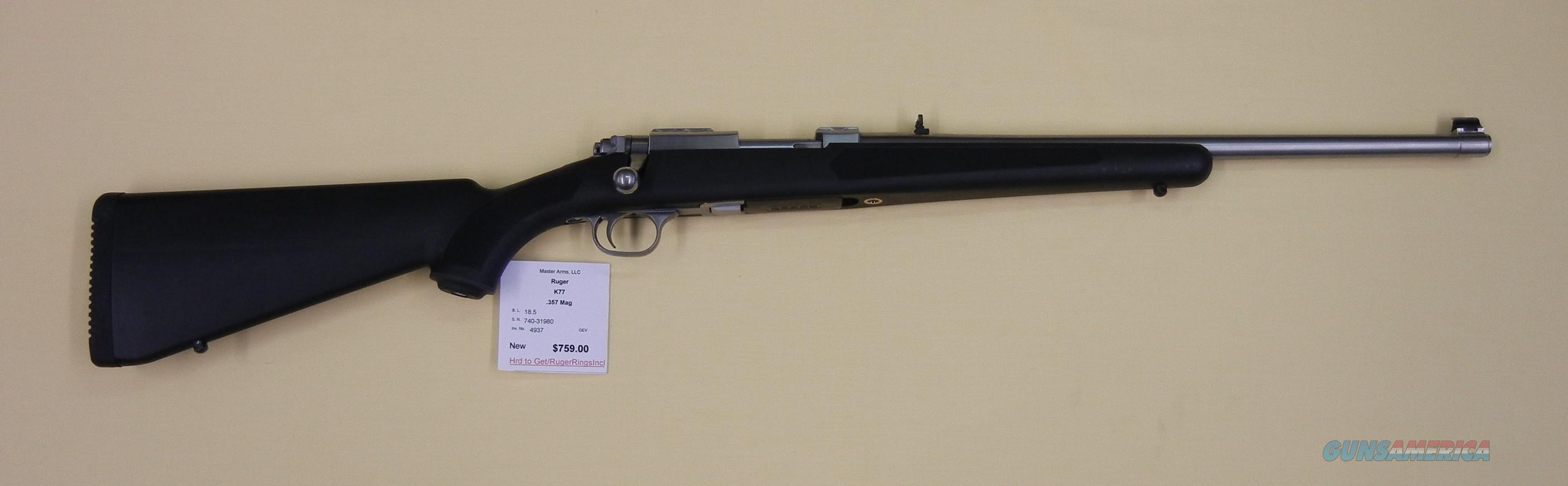 RUGER M77/357  Guns > Rifles > Ruger Rifles > Model 77