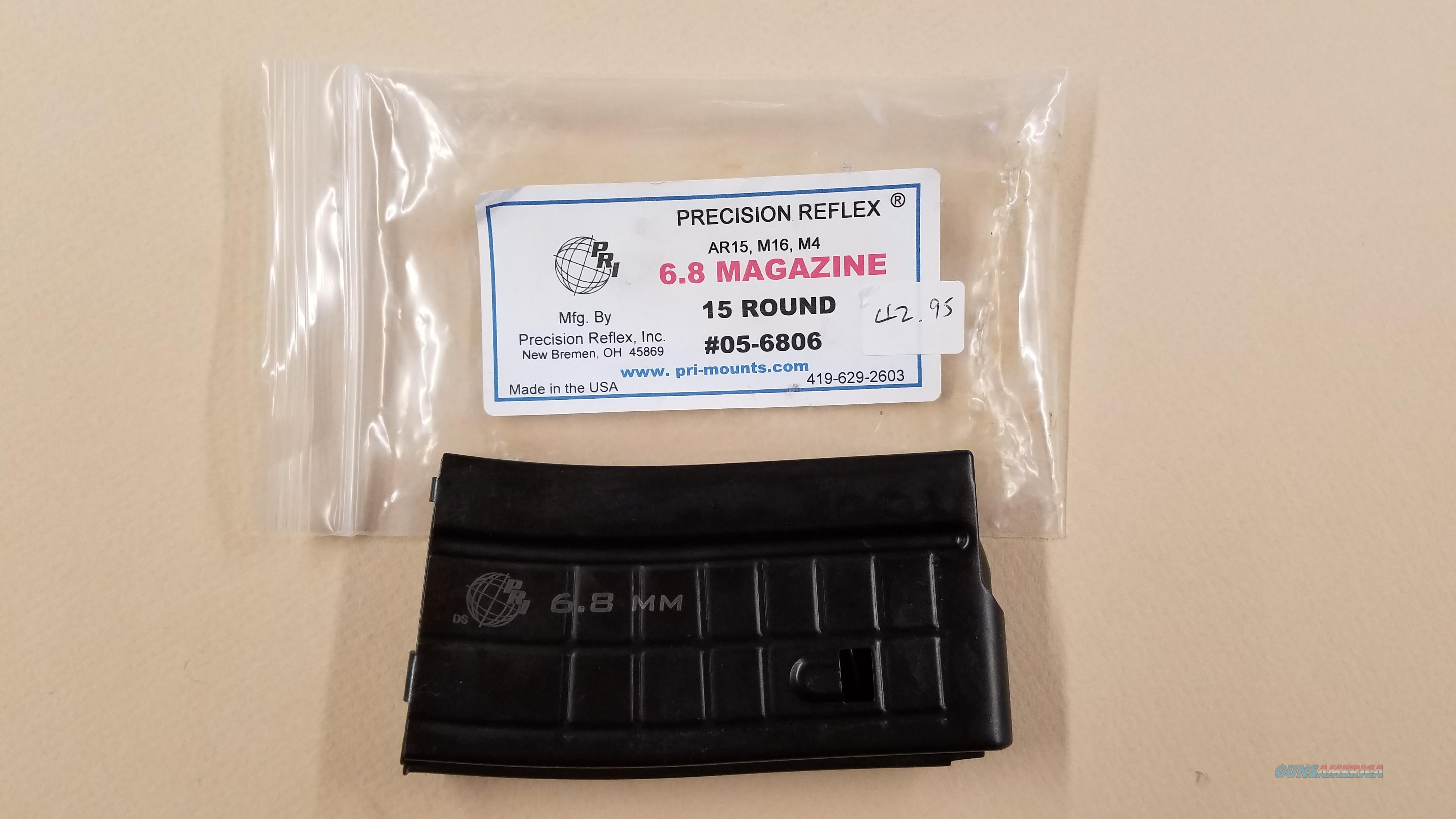 PRECISION RELEX 6.8 15 ROUND MAGAZINE  Non-Guns > Magazines & Clips > Rifle Magazines > AR-15 Type