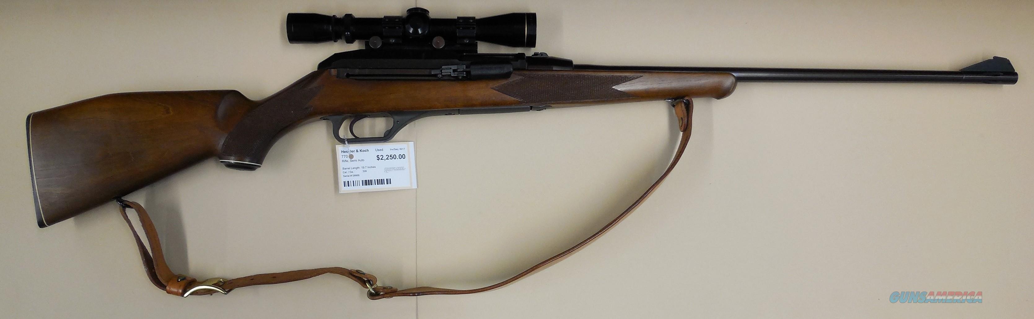 HECKLER & KOCH MODEL 770  Guns > Rifles > Heckler & Koch Rifles > Sporting/Hunting