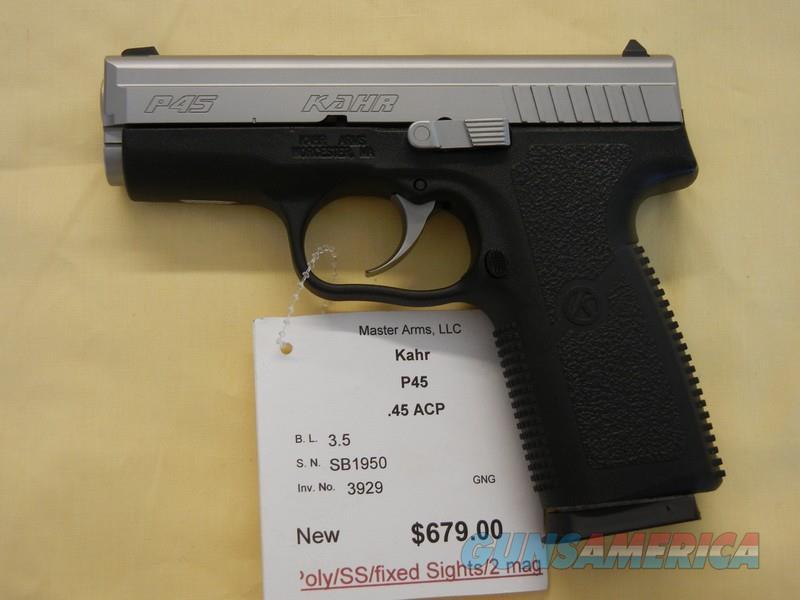 KAHR P45  Guns > Pistols > Kahr Pistols