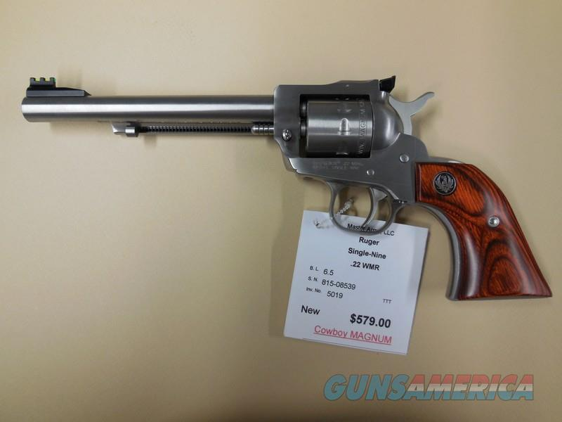 RUGER SINGLE NINE  Guns > Pistols > Ruger Single Action Revolvers > Single Six Type