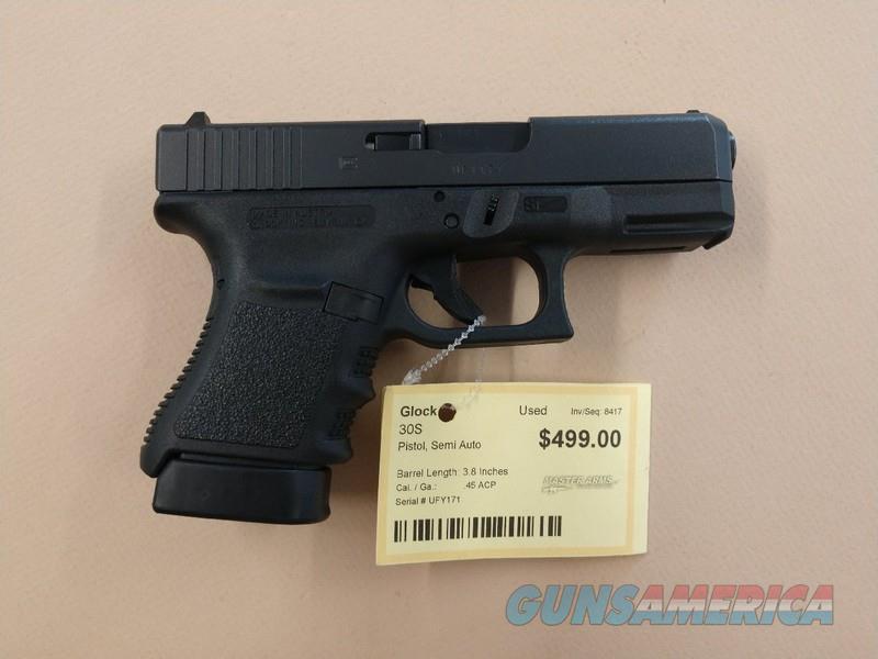 GLOCK 30S  Guns > Pistols > Glock Pistols > 29/30/36