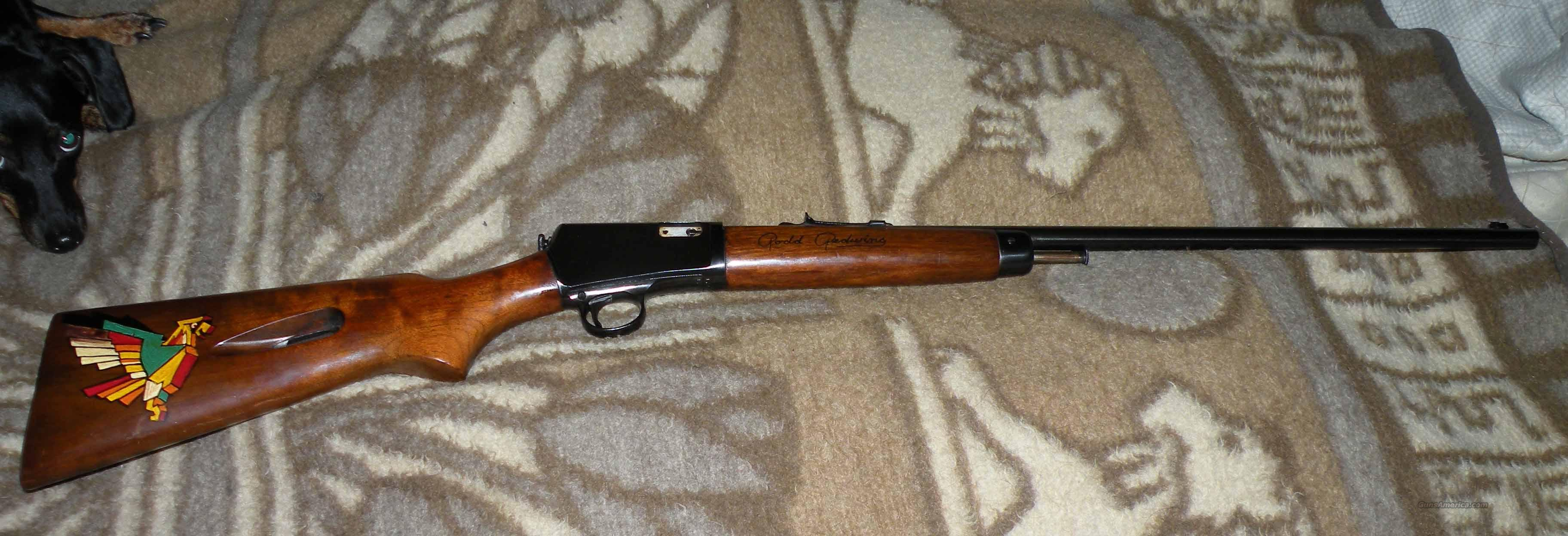 Winchester 63 Grooved - Chief Rodd Redwing  Guns > Rifles > Winchester Rifles - Modern Bolt/Auto/Single > Autoloaders