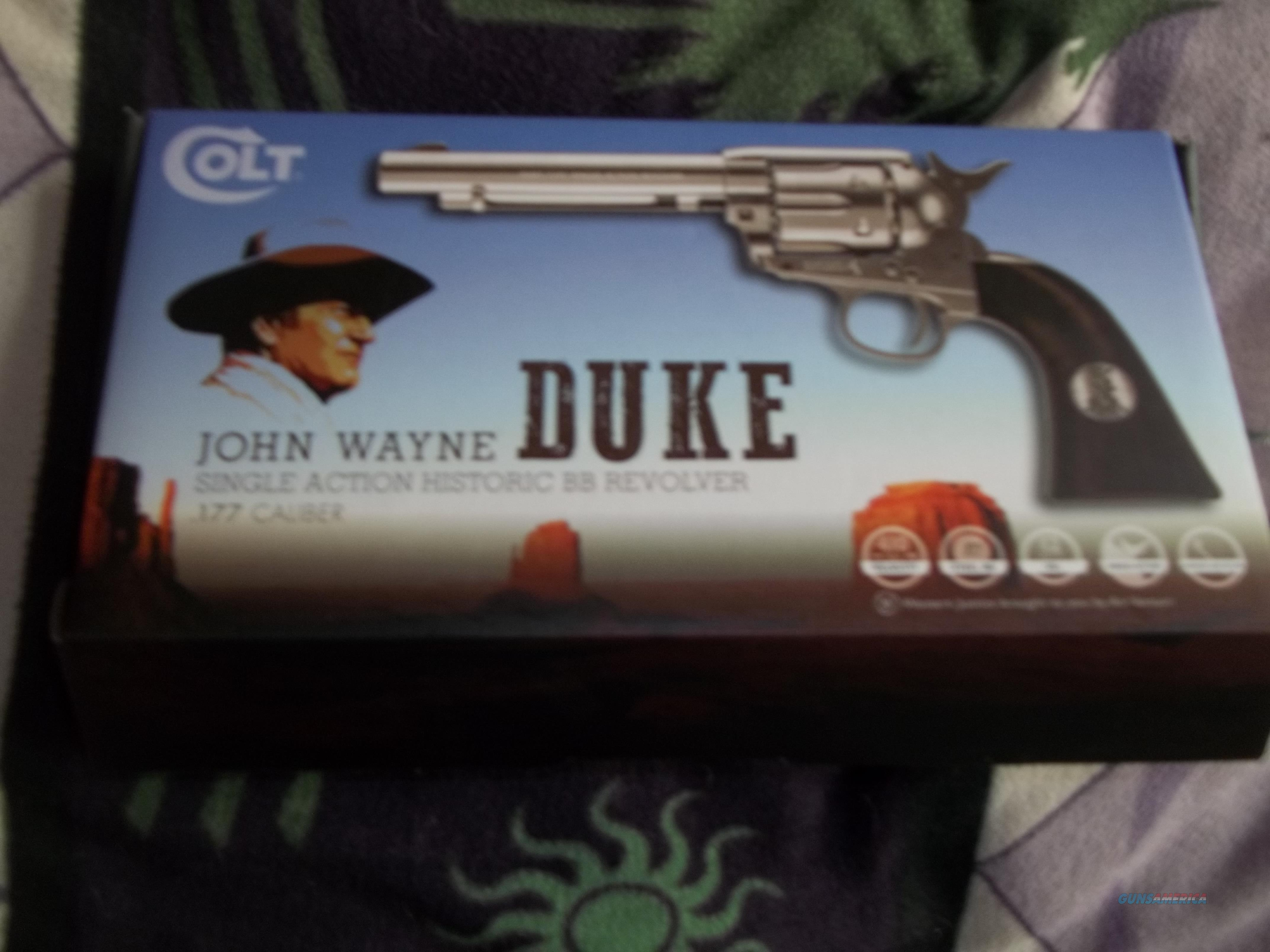 John Wayne Single Action BB Revolver  Non-Guns > Air Rifles - Pistols > CO2 Pistol