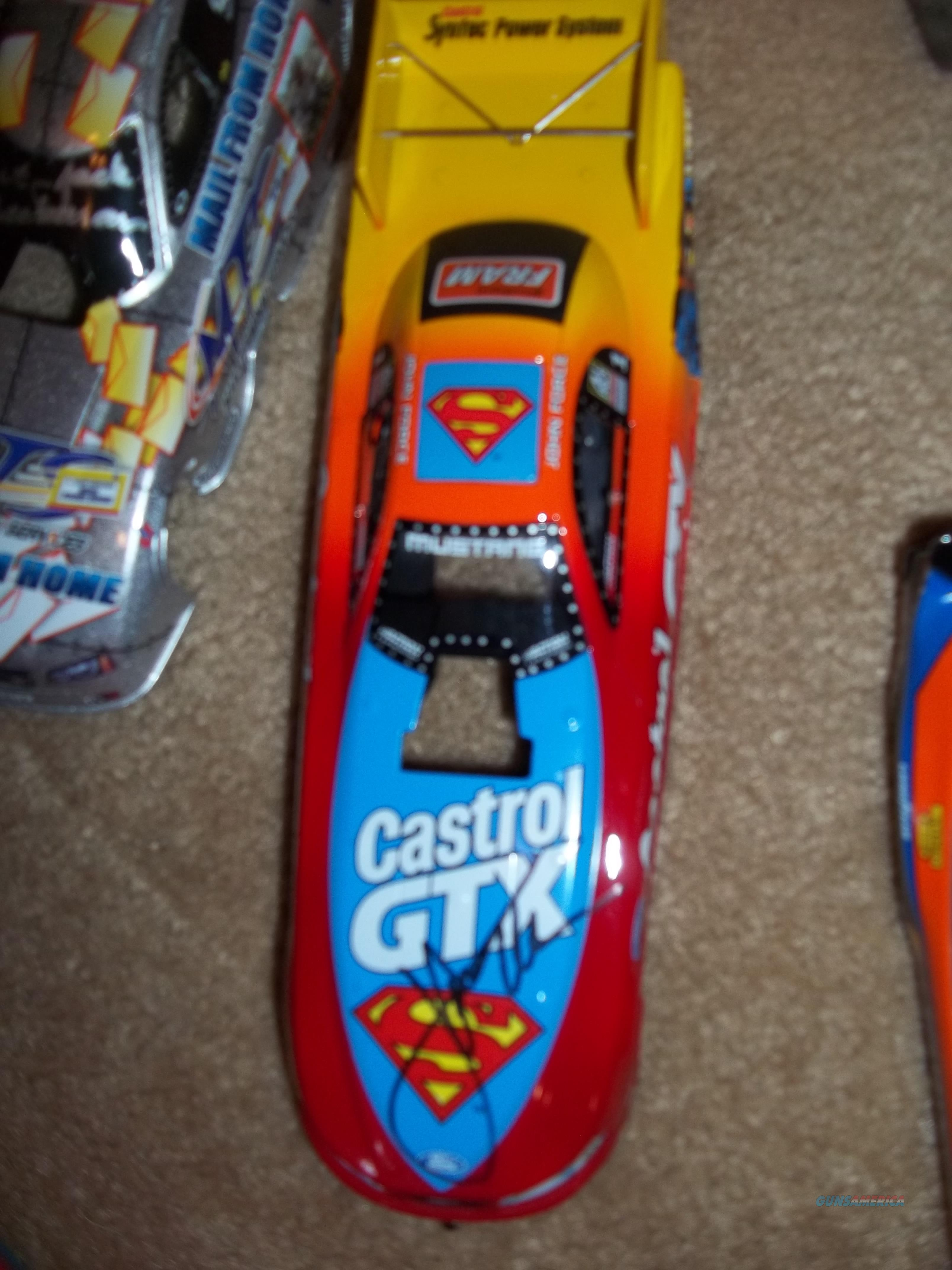 NHRA John Force Autographed SDupermann Funny Car  Non-Guns > Hobbies and Collectibles > Die Cast > NASCAR