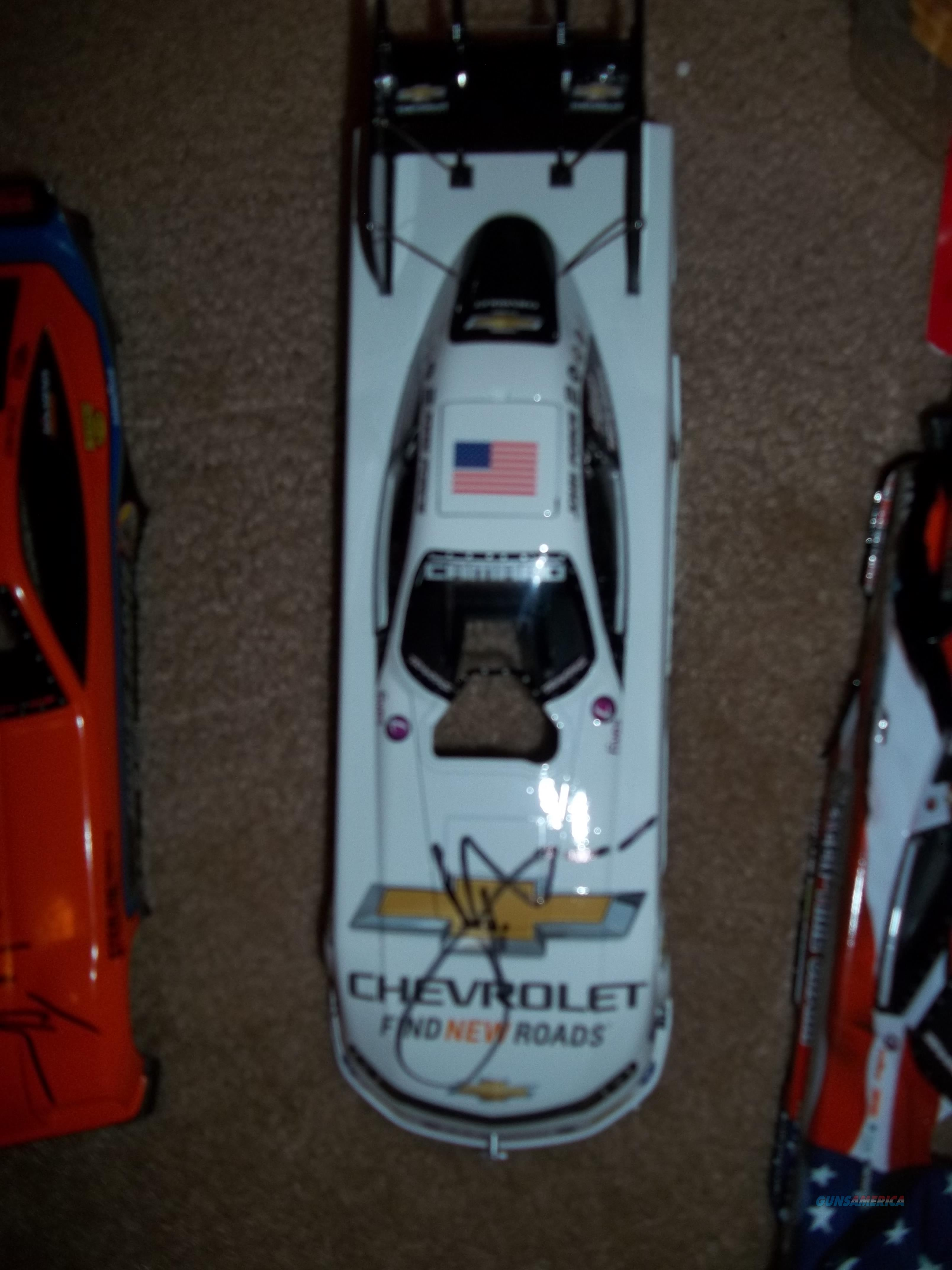 NHRA John Force Autographed Chevrolet Funny Car  Non-Guns > Hobbies and Collectibles > Die Cast > NASCAR