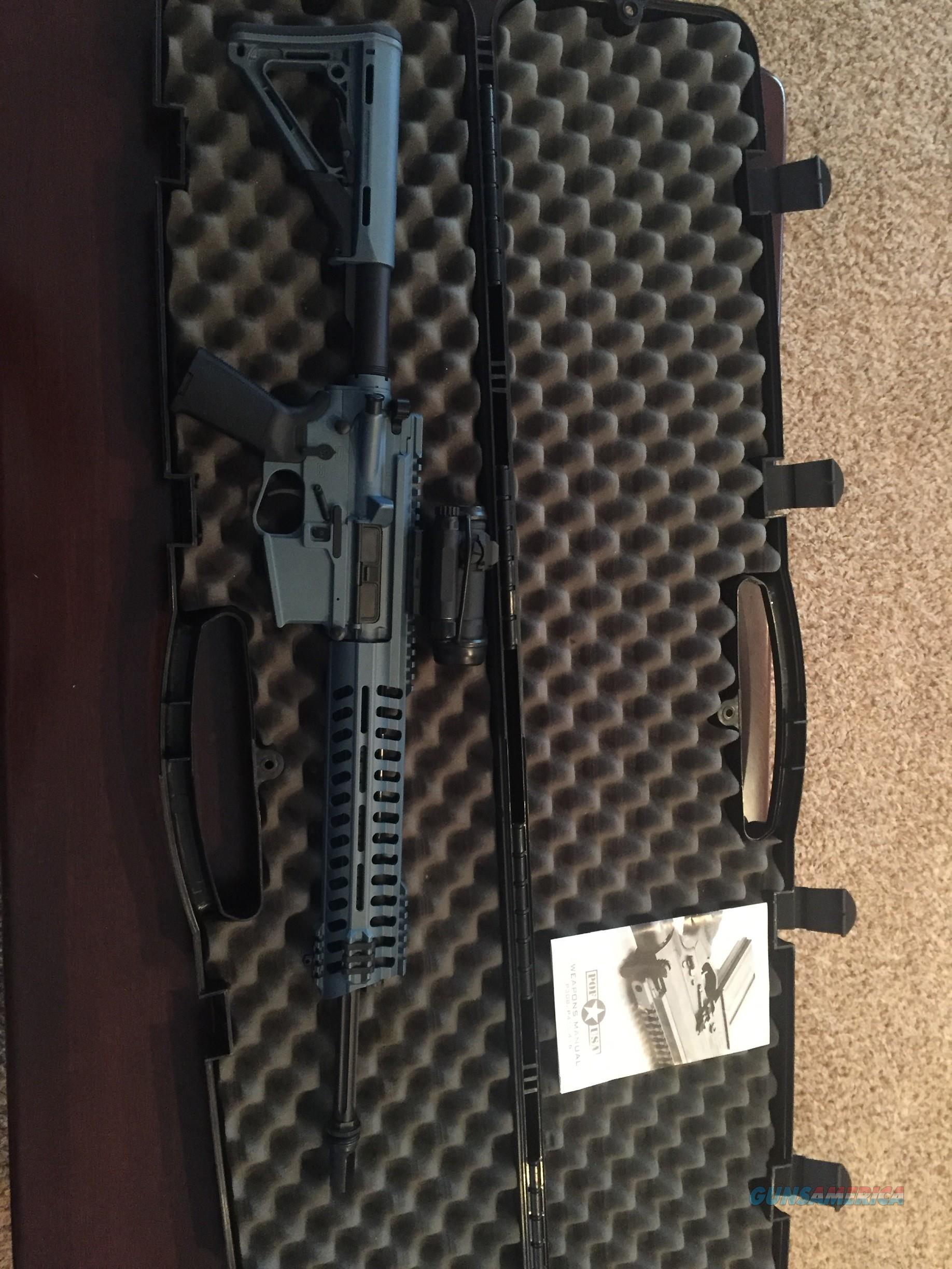 POF P415 with Aimpoint Pro Comp M4S optic  Guns > Rifles > Patriot Ordnance Factory - POF USA > Complete Rifles