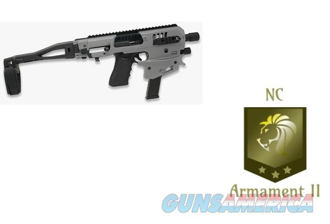 CAA Micro Conversion Kit Gen 2 for Glock 17,19,19x Tungsten Upper  Non-Guns > Gun Parts > Misc > Pistols