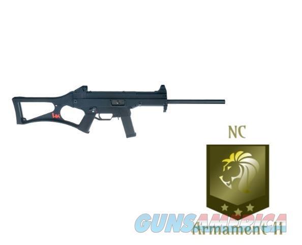 HK USC Carbine 45acp 16 Inch Barrel Black Finish  Guns > Rifles > Heckler & Koch Rifles > Tactical