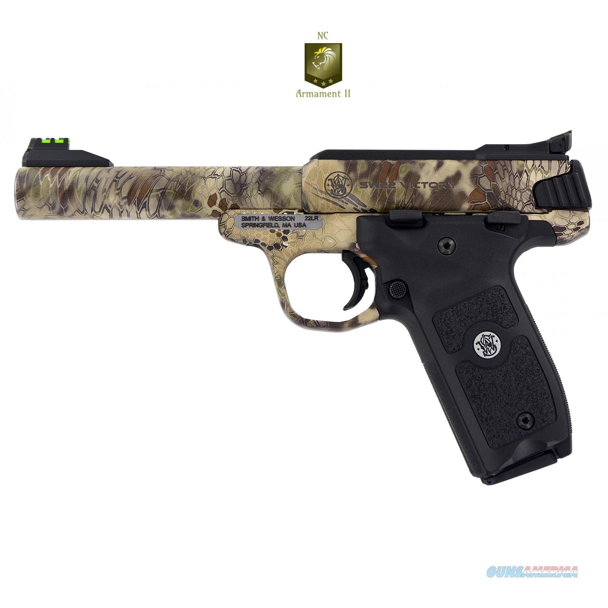 Smith & Wesson Victory 22lr Kryptek Highlander Finish  Guns > Pistols > Smith & Wesson Pistols - Autos > .22 Autos