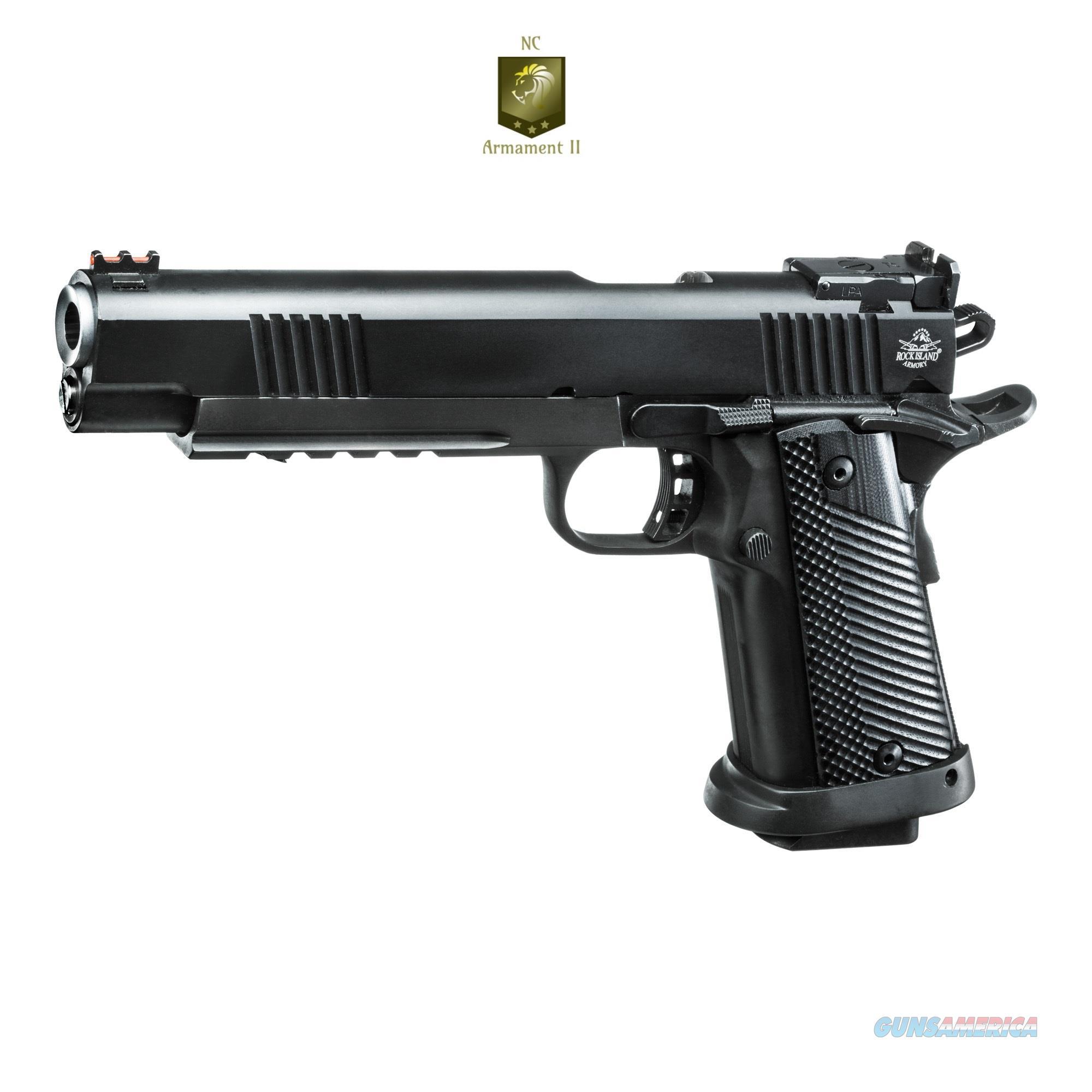 Rock Island Ultra Match Pro Series 1911 G10 Grips 10mm  Guns > Pistols > Rock Island Armory Pistols > Rock Island