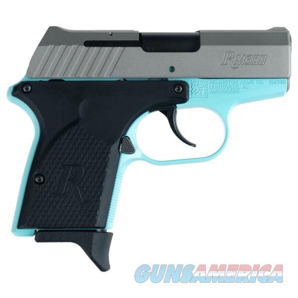 Remington RM380 380ACP Robin Egg Titanium Pistol   Guns > Pistols > Remington Pistols - Modern > RM380