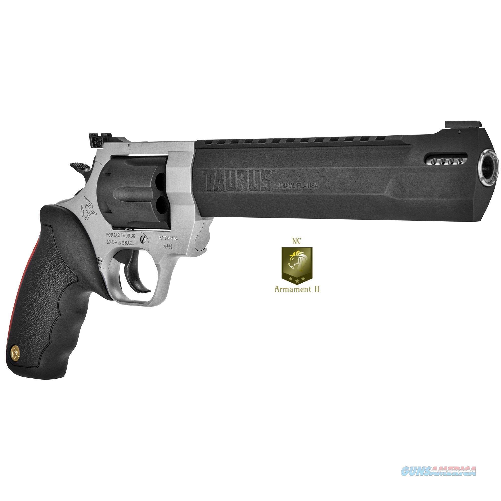 Taurus Raging Hunter 44mag 8.375 Inch Barrel Two-Tone  Guns > Pistols > Taurus Pistols > Revolvers