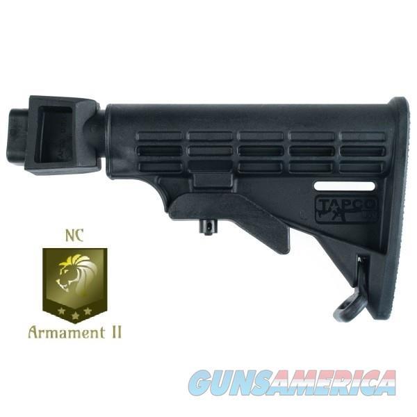 Black AK-47 Collapsible Stock Set (For Milled Receivers)  Non-Guns > Gun Parts > Stocks > Polymer