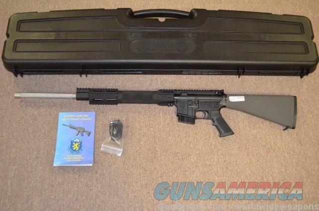 Olympic arms K8 match in 6.5 Grendel package deal  Guns > Rifles > AR-15 Rifles - Small Manufacturers > Complete Rifle