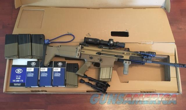 Fn Scar 17 - 7.62x51mm/.308  Guns > Rifles > FNH - Fabrique Nationale (FN) Rifles > Bolt action > Hunting