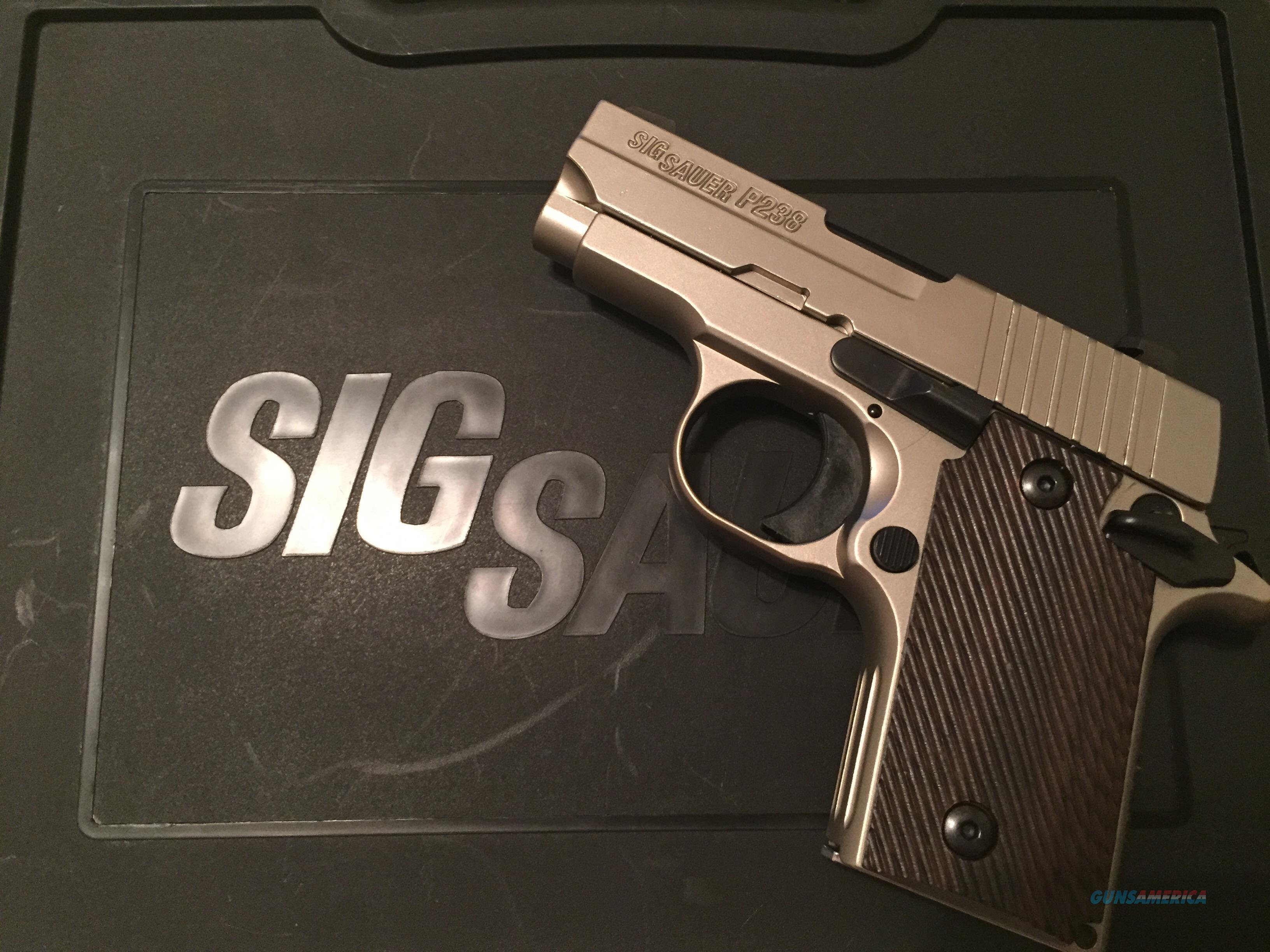 Sig Sauer P238 .380 and ammo FMJ x 850  Guns > Pistols > Sig - Sauer/Sigarms Pistols > P238