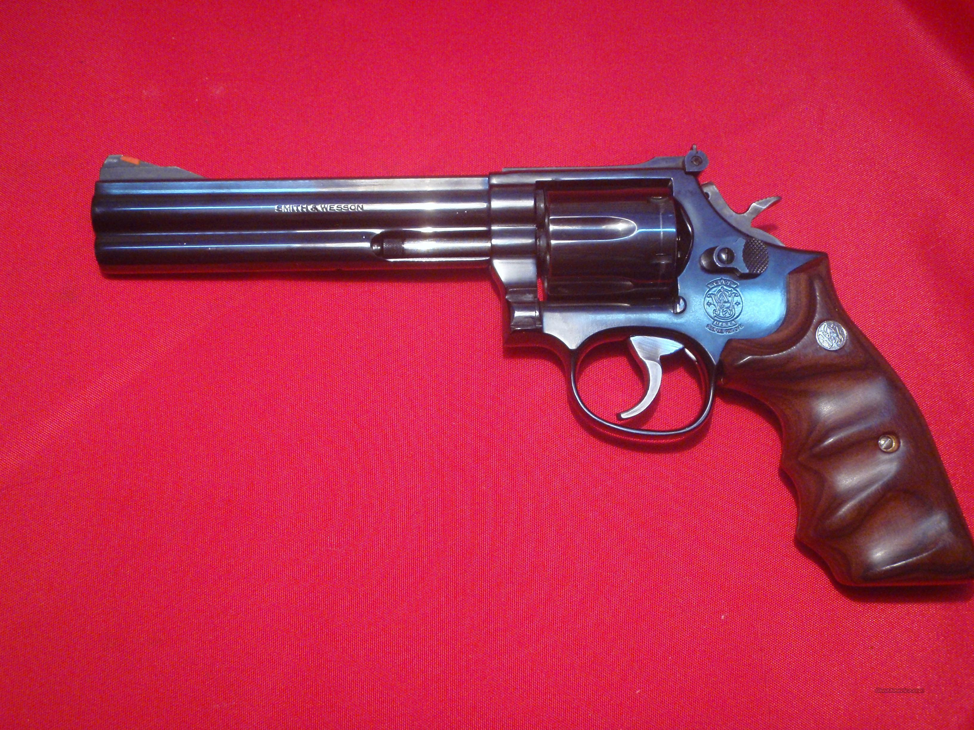 S&W Model 586 6in BLUED .357 MAG 357  Guns > Pistols > Smith & Wesson Revolvers > Full Frame Revolver