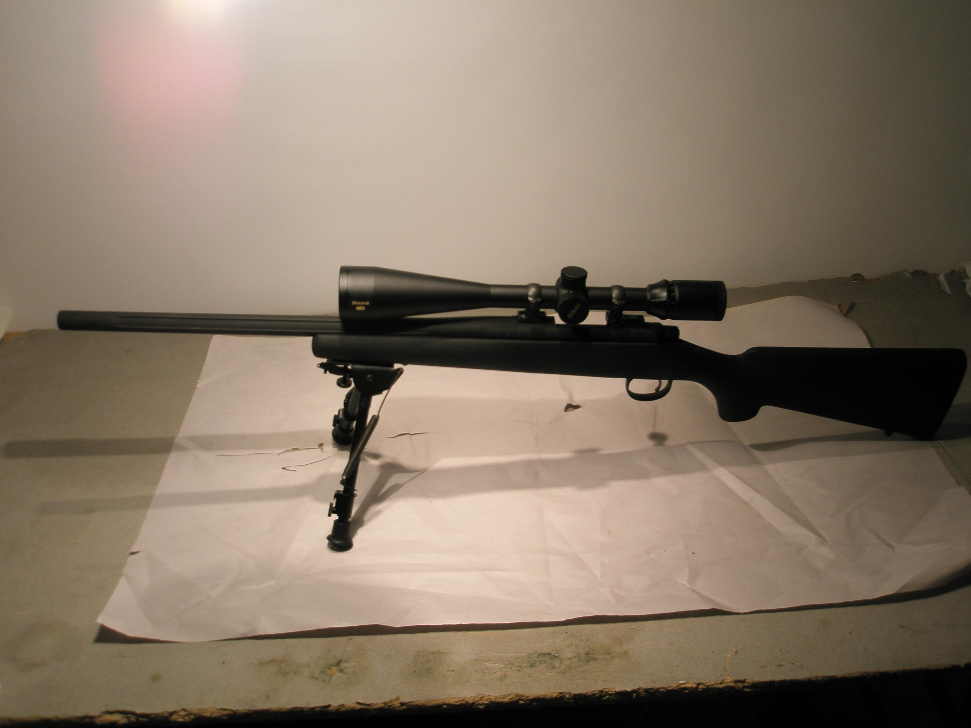 Remington Model 700 LTR .308 Nikon 8-32X50  Guns > Rifles > Remington Rifles - Modern > Model 700 > Sporting