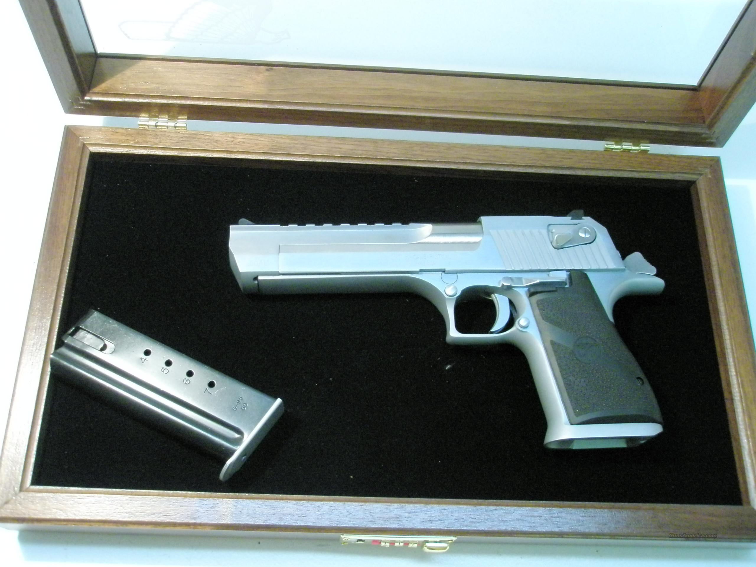 Magnum Research Desert Eagle Brushed Chrome .50AE  Guns > Pistols > Magnum Research Pistols