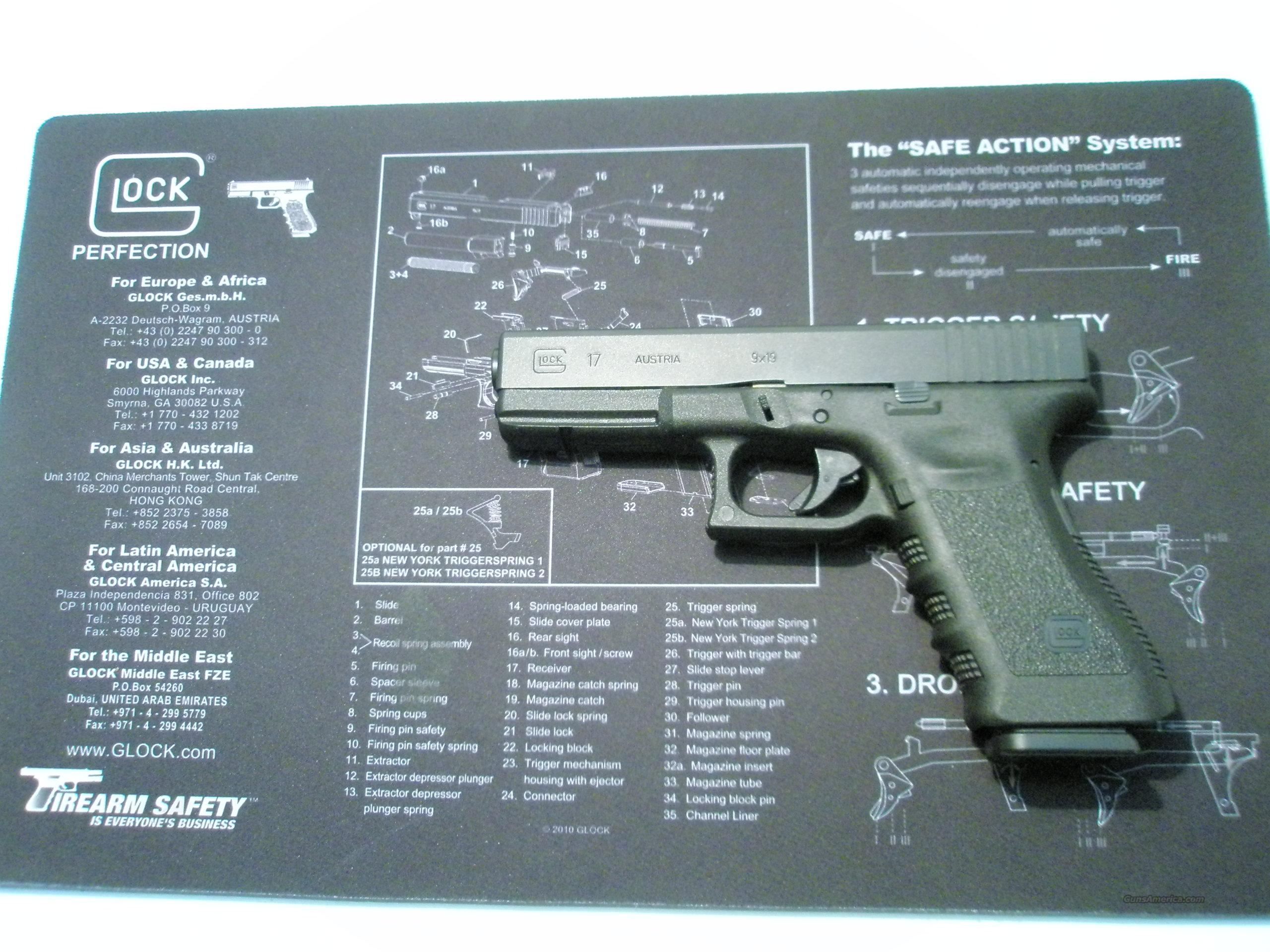 Glock 17 9mm Generation 3  Guns > Pistols > Glock Pistols > 17