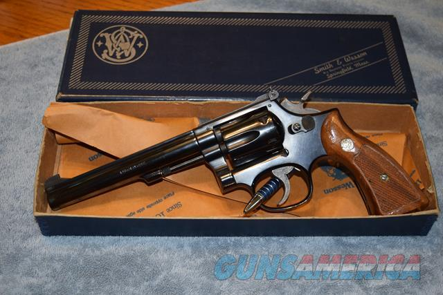 Smith and Wesson model 48-4 Masterpiece Magnum Rimfire NIB  Guns > Pistols > Smith & Wesson Revolvers > Med. Frame ( K/L )
