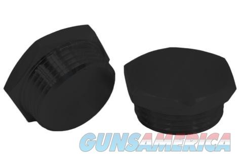 3/4 NPT BLACK ANODIZED ALUMINUM THREADED CAP PLUG  Non-Guns > Miscellaneous