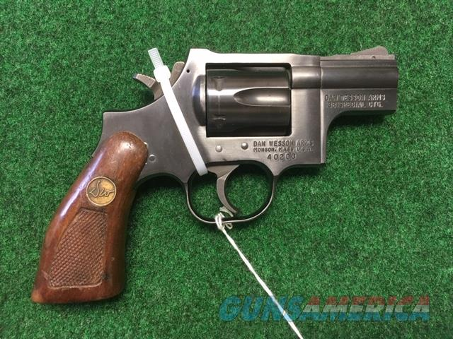 Dan Wesson 38 Special Revolver  Guns > Pistols > Dan Wesson Pistols/Revolvers > Revolvers