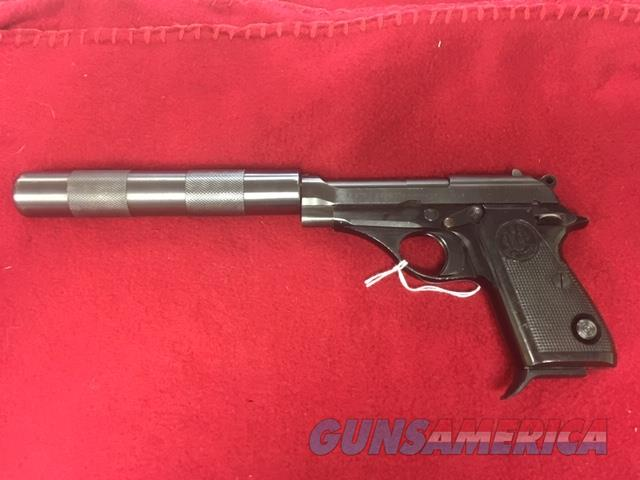 Beretta Mod. 71 22 LR with Faux Suppressor  Guns > Pistols > Beretta Pistols > Rare & Collectible