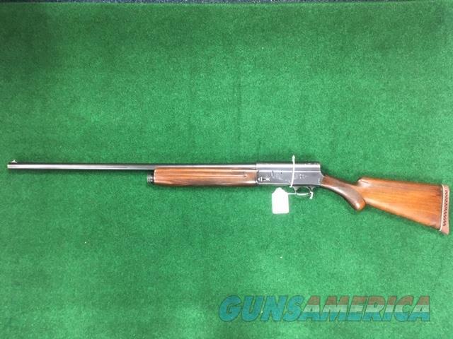 Browning A5 12 GA Shotgun Dom. 1947  Guns > Shotguns > Browning Shotguns > Autoloaders > Hunting