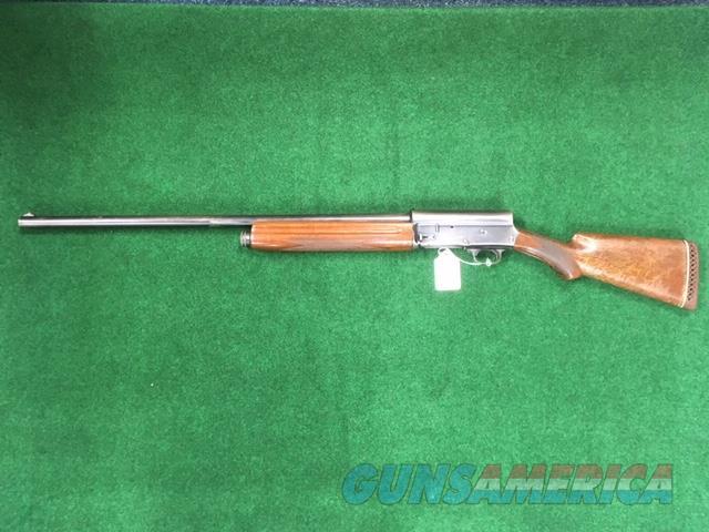 Browning A5 12 GA Dom. 1927 Early Production  Guns > Shotguns > Browning Shotguns > Autoloaders > Hunting