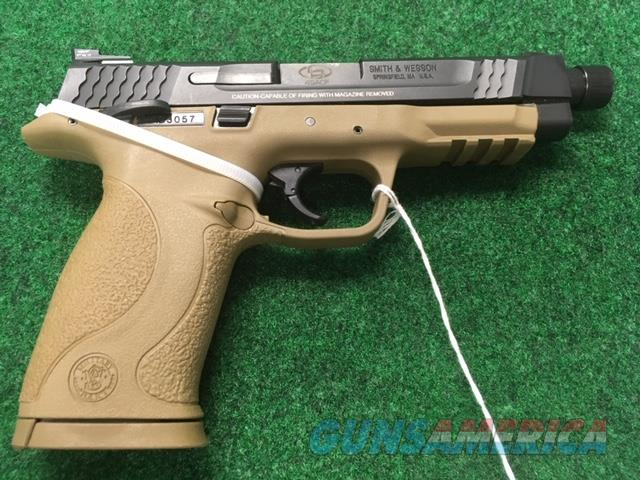 Smith and Wesson 45 Caliber Night Sights Threaded Barrel  Guns > Pistols > Smith & Wesson Pistols - Autos > Polymer Frame
